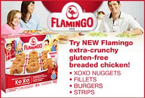 flamingo gluten-free breaded chicken
